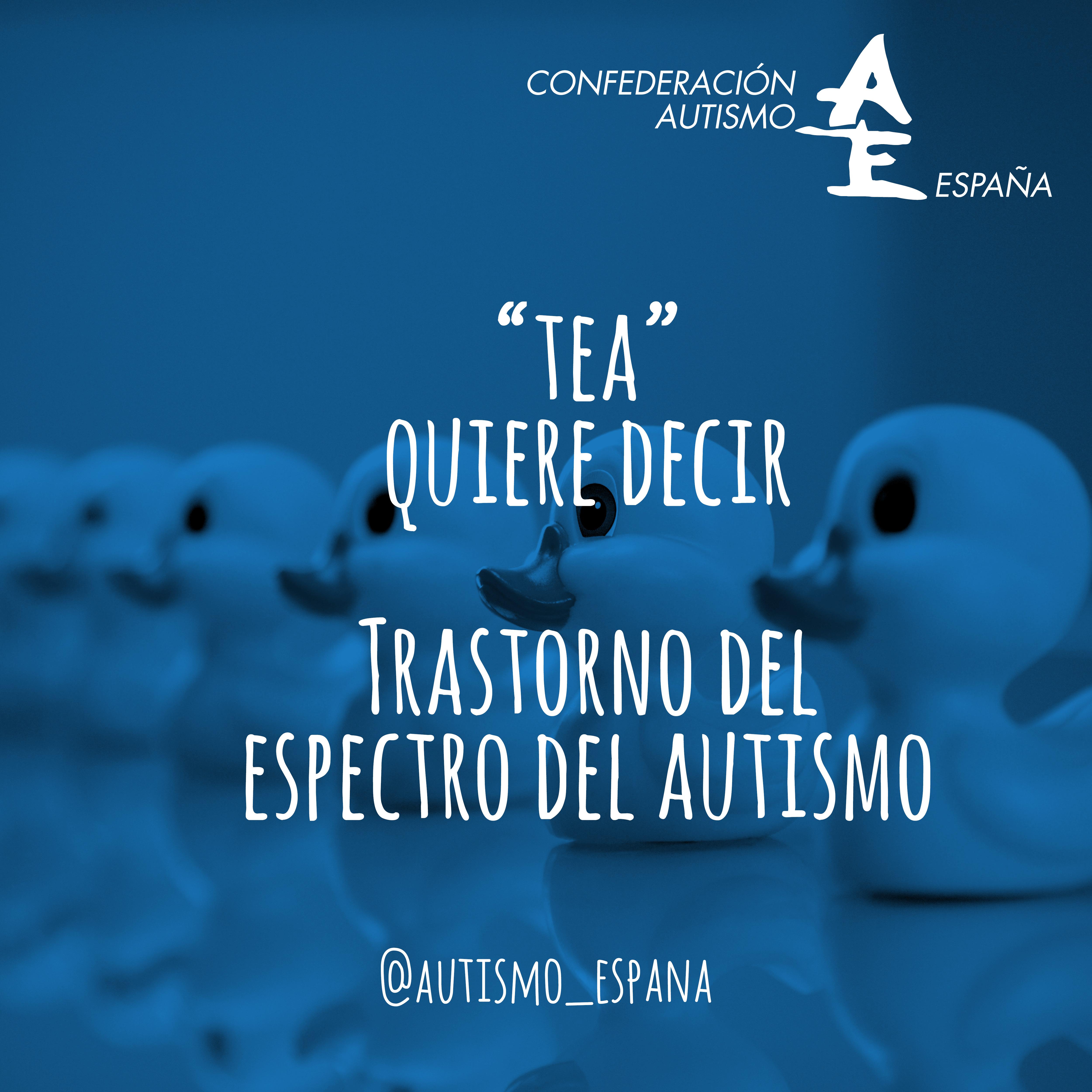 Sabes Que Significa Tea Confederación Autismo España